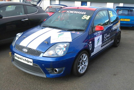 sponsoring Nick Forsyth in the 2017 Scottish XR2 Championships